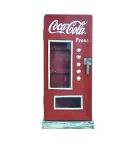 Porta-ChaveCoca-Cola-Madeira-