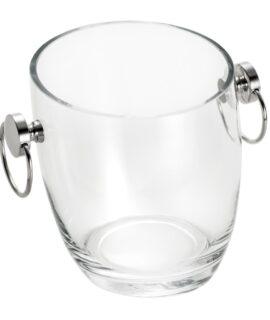 balde para vinho com alça em prata